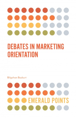 Jacket image for Debates in Marketing Orientation