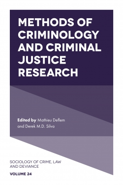 Jacket image for Methods of Criminology and Criminal Justice Research