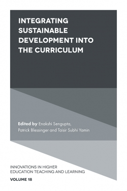 Jacket image for Integrating Sustainable Development into the Curriculum