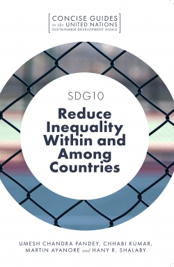 Jacket image for SDG10 – Reduce Inequality Within and Among Countries