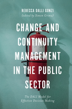 Jacket image for Change and Continuity Management in the Public Sector
