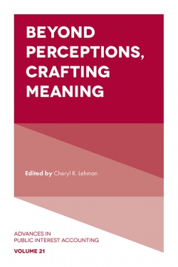 Jacket image for Beyond Perceptions, Crafting Meaning