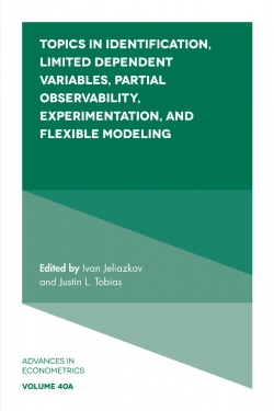 Jacket image for Topics in Identification, Limited Dependent Variables, Partial Observability, Experimentation, and Flexible Modeling