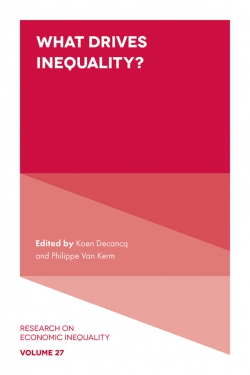 Jacket image for What Drives Inequality?