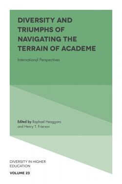 Jacket image for Diversity and Triumphs of Navigating the Terrain of Academe