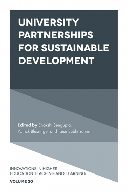 Jacket image for University Partnerships for Sustainable Development