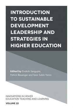 Jacket image for Introduction to Sustainable Development Leadership and Strategies in Higher Education