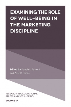 Jacket image for Examining the Role of Well Being in the Marketing Discipline