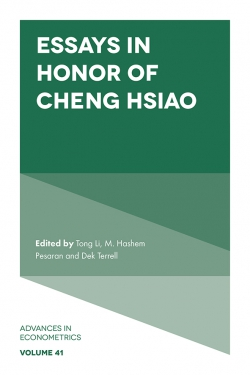 Jacket image for Essays in Honor of Cheng Hsiao