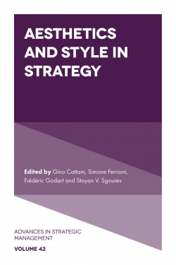 Jacket image for Aesthetics and Style in Strategy