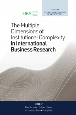 Jacket image for The Multiple Dimensions of Institutional Complexity in International Business Research