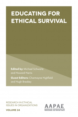 Jacket image for Educating For Ethical Survival