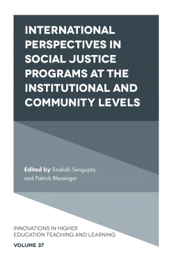 Jacket image for International perspectives in social justice programs at the institutional and community levels