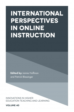 Jacket image for International Perspectives in Online Instruction