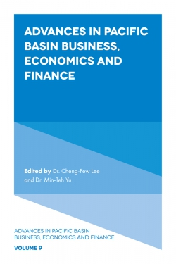 Jacket image for Advances in Pacific Basin Business, Economics and Finance