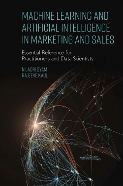Jacket image for Machine Learning and Artificial Intelligence in Marketing and Sales