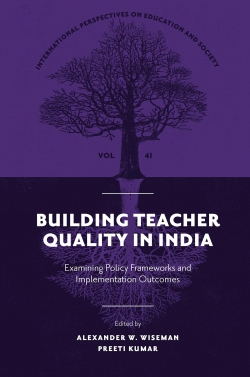 Jacket image for Building Teacher Quality in India