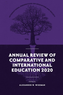 Jacket image for Annual Review of Comparative and International Education 2020