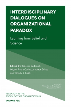 Jacket image for Interdisciplinary Dialogues on Organizational Paradox