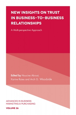 Jacket image for New Insights on Trust in Business-to-Business Relationships