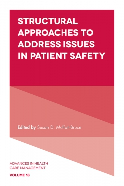 Jacket image for Structural Approaches to Address Issues in Patient Safety