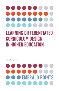 Jacket image for Learning Differentiated Curriculum Design in Higher Education