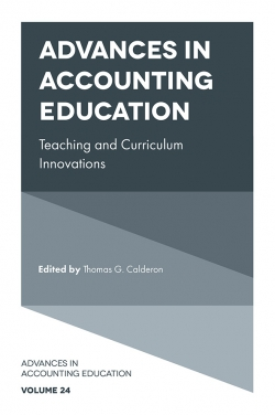 Jacket image for Advances in Accounting Education