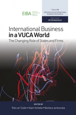 Jacket image for International Business in a VUCA World