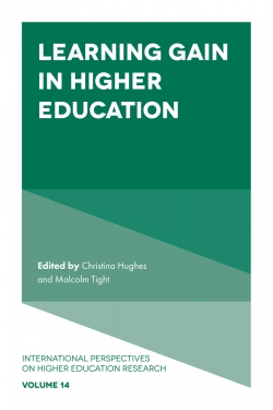 Jacket image for Learning Gain in Higher Education