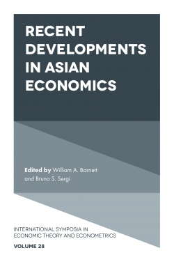 Jacket image for Recent Developments in Asian Economics