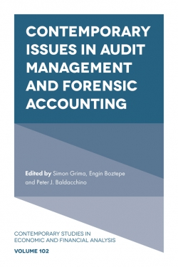 Jacket image for Contemporary Issues in Audit Management and Forensic Accounting