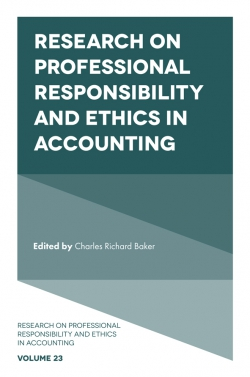 Jacket image for Research on Professional Responsibility and Ethics in Accounting