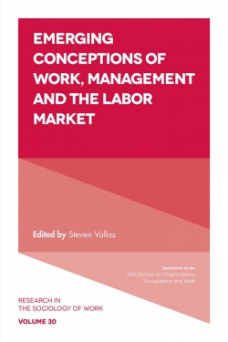 Jacket image for Emerging Conceptions of Work, Management and the Labor Market
