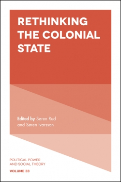 Jacket image for Rethinking the Colonial State