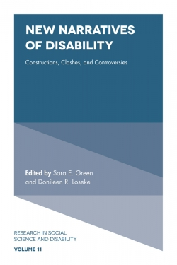 Jacket image for New Narratives of Disability
