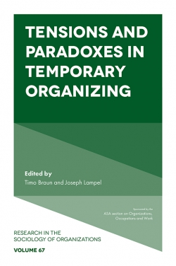 Jacket image for Tensions and paradoxes in temporary organizing