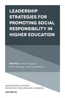 Jacket image for Leadership Strategies for Promoting Social Responsibility in Higher Education