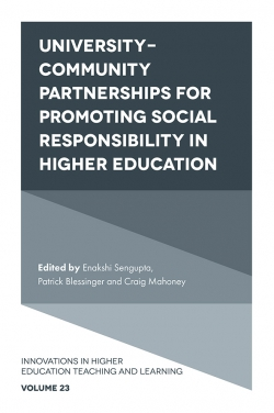 Jacket image for University-Community Partnerships for Promoting Social Responsibility in Higher Education