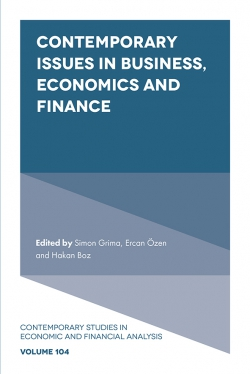Jacket image for Contemporary Issues in Business, Economics and Finance