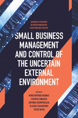 Jacket image for Small Business Management and Control of the Uncertain External Environment
