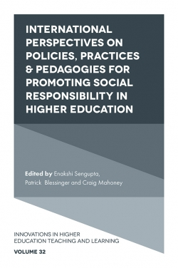 Jacket image for International Perspectives on Policies, Practices & Pedagogies for Promoting Social Responsibility in Higher Education