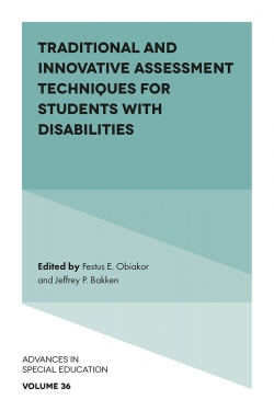 Jacket image for Traditional and Innovative Assessment Techniques for Students with Disabilities