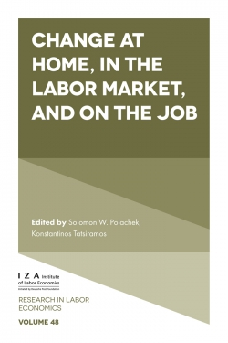Jacket image for Change at Home, in the Labor Market, and on the Job