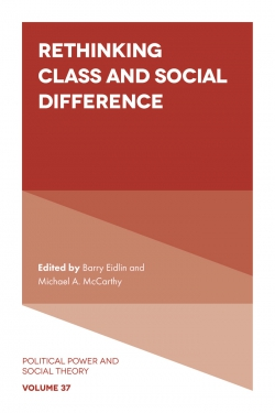 Jacket image for Rethinking Class and Social Difference