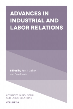 Jacket image for Advances in Industrial and Labor Relations