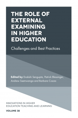 Jacket image for The Role of External Examining in Higher Education