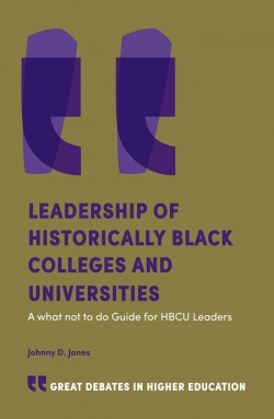 Jacket image for Leadership of Historical Black Colleges and Universities