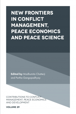 Jacket image for New Frontiers in Conflict Management and Peace Economics