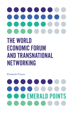 Jacket image for The World Economic Forum and Transnational Networking