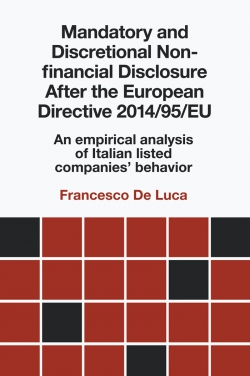 Jacket image for Mandatory and Discretional Non-financial Disclosure After the European Directive 2014/95/EU
